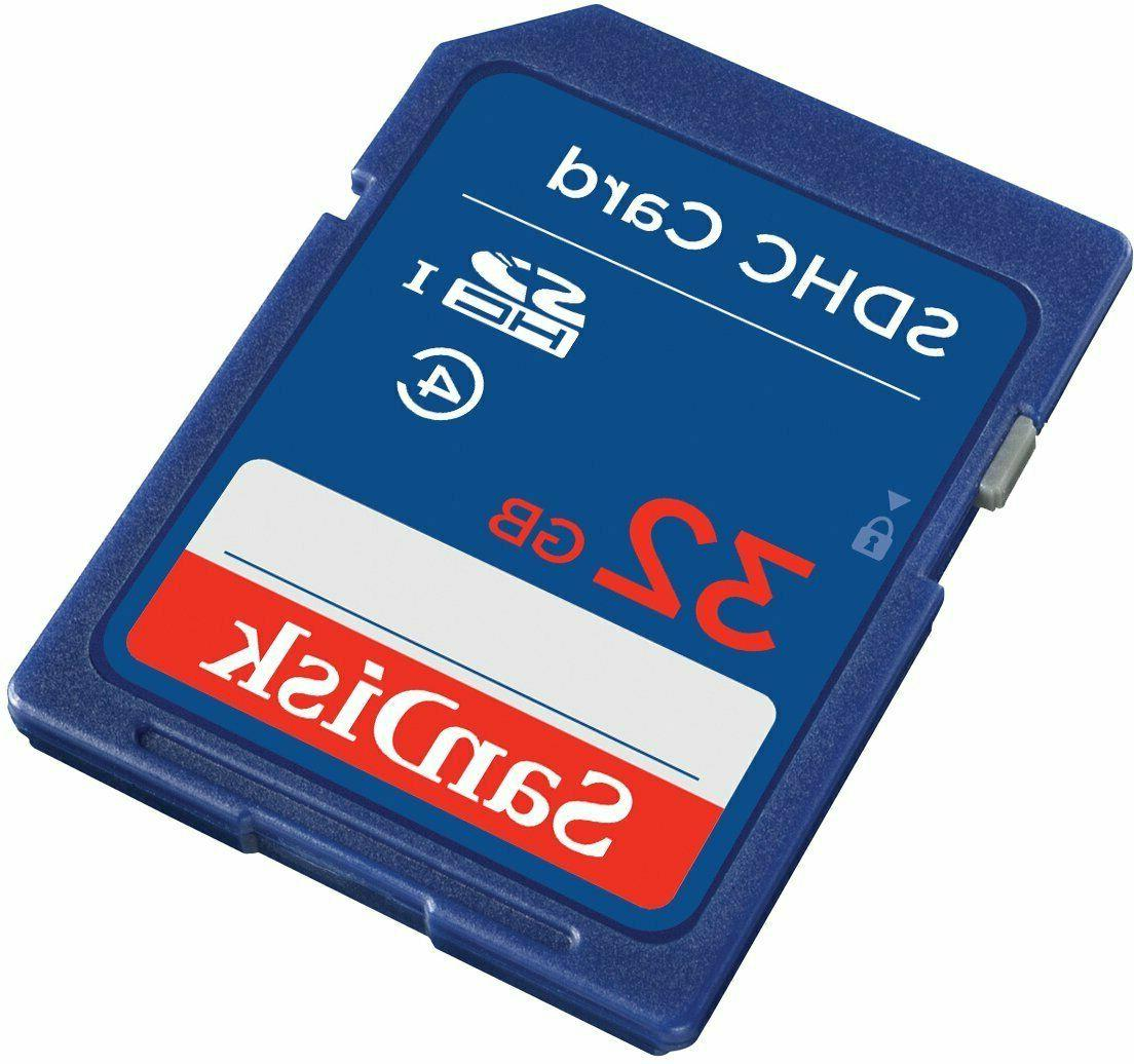 SanDisk 32gb SD Card SDHC HD Class for Cameras