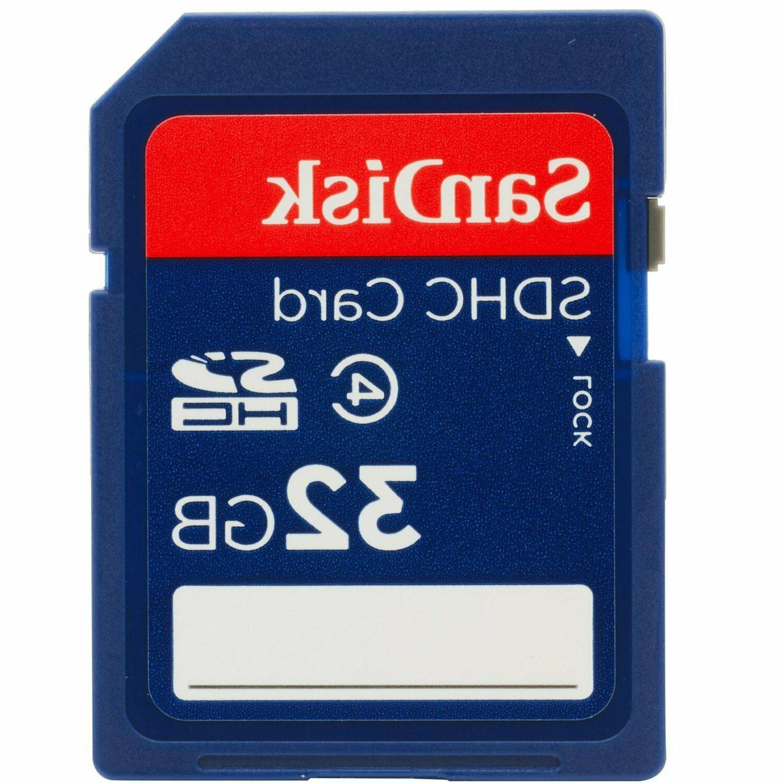 SanDisk 32gb SD SDHC Class 4