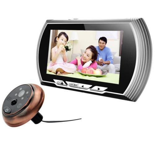 4 3 hd visual monitor door peephole