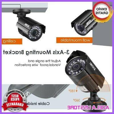 4 Camara Seguridad DVR Casa HD Wifi Disco