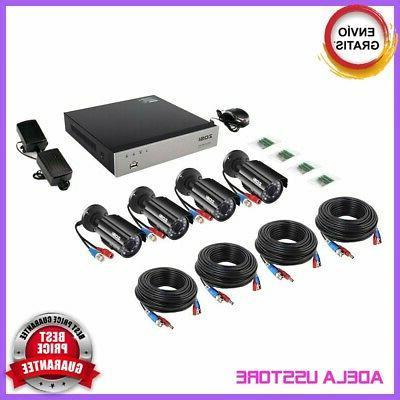 4 DVR Casa Vision HD Con Disco