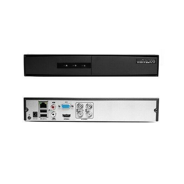 720P HD Security System w 4 Spotlight 1TB HDD
