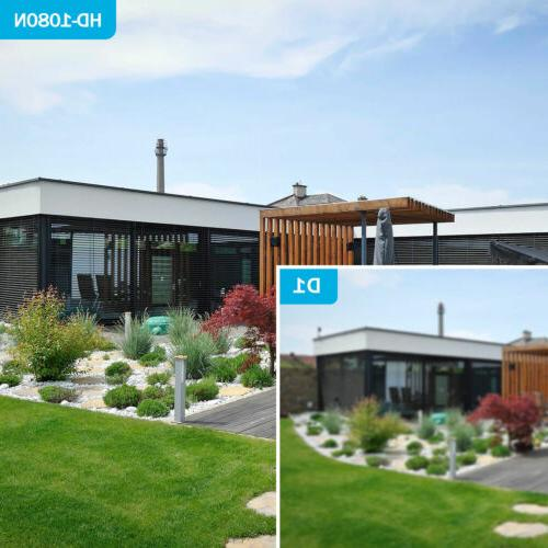 4CH 1080N Outdoor IR-CUT Home Android iOS