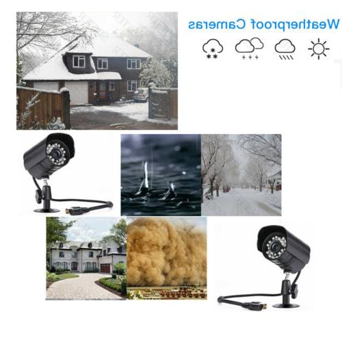 4CH 1080N 5IN1 Outdoor HD Camera Home Android
