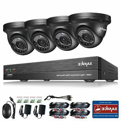 4CH CCTV Security Night Vision