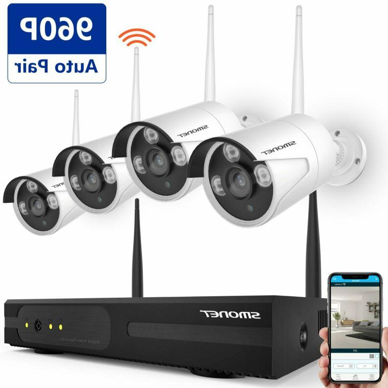 4ch 1080p hd wireless video security system
