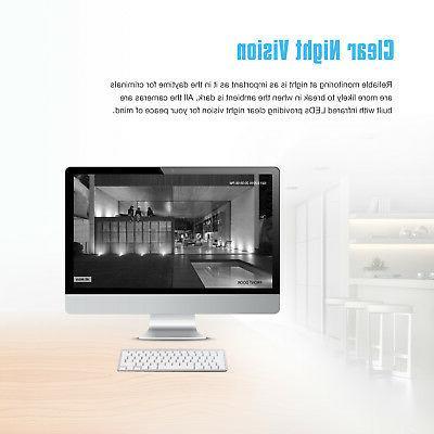 SANNCE DVR Video IR HD CCTV