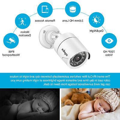 SANNCE DVR CCTV Security 1TB