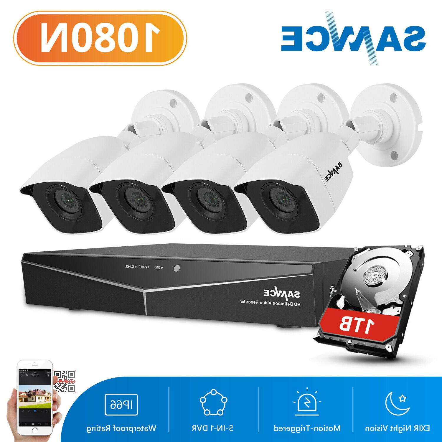 4ch dvr ir cctv security