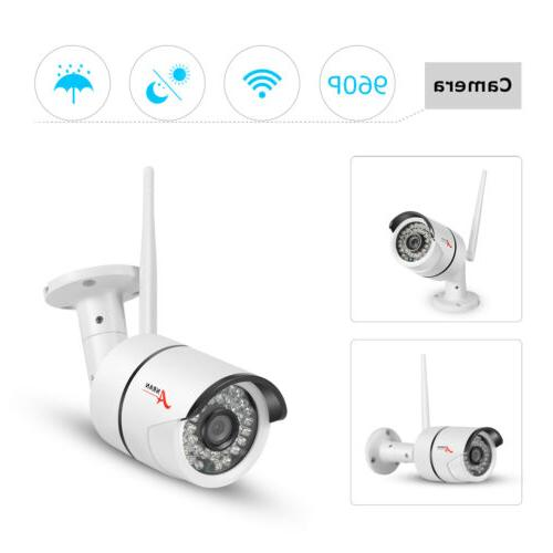 4CH HD Home Security With NVR
