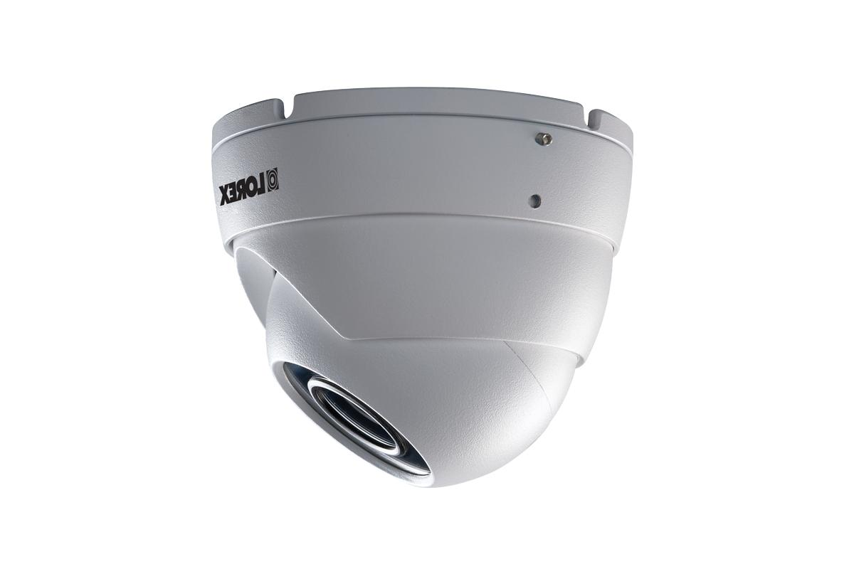 Lorex 4K NR8141 HD NVR with 2K White Dome Cameras