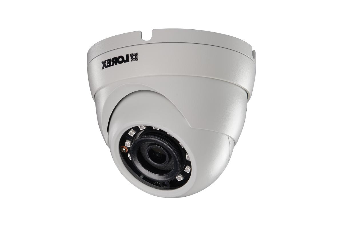 Lorex 4 Ch NR8141 with 4xLNE4172SB White Dome IP