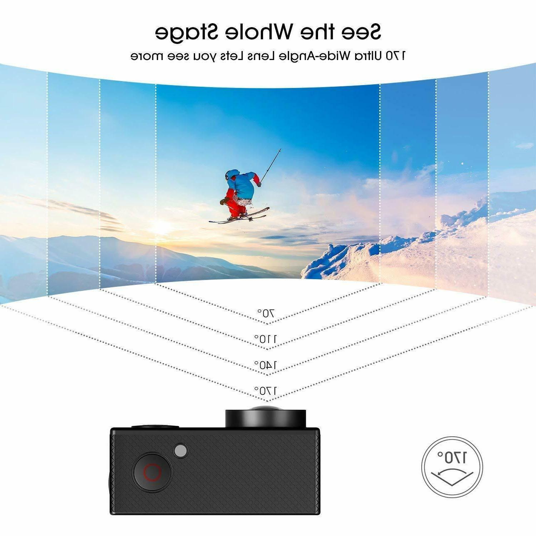 4K Action Camera Camcorder Camera Waterproof