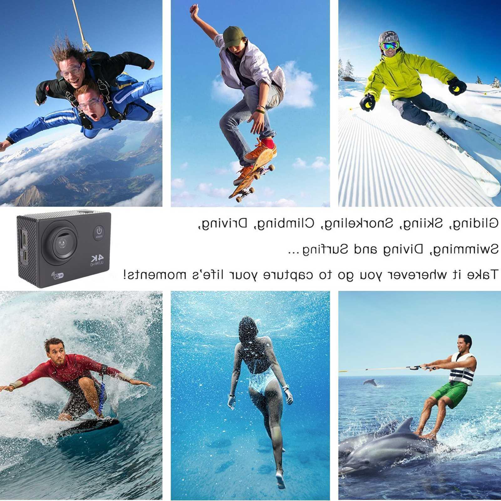 Camcorder 16MP Camera Waterproof