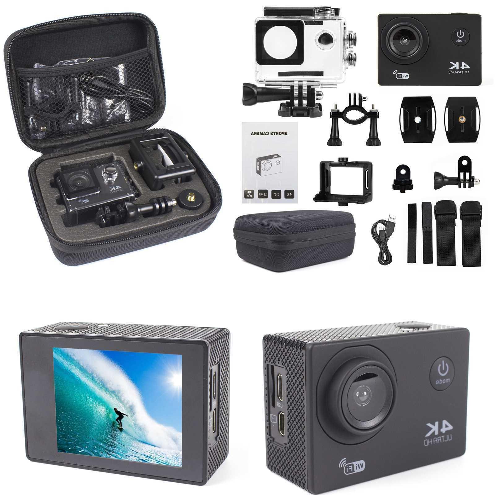 4K Camera WiFi Camcorder Camera Accessory Bundle