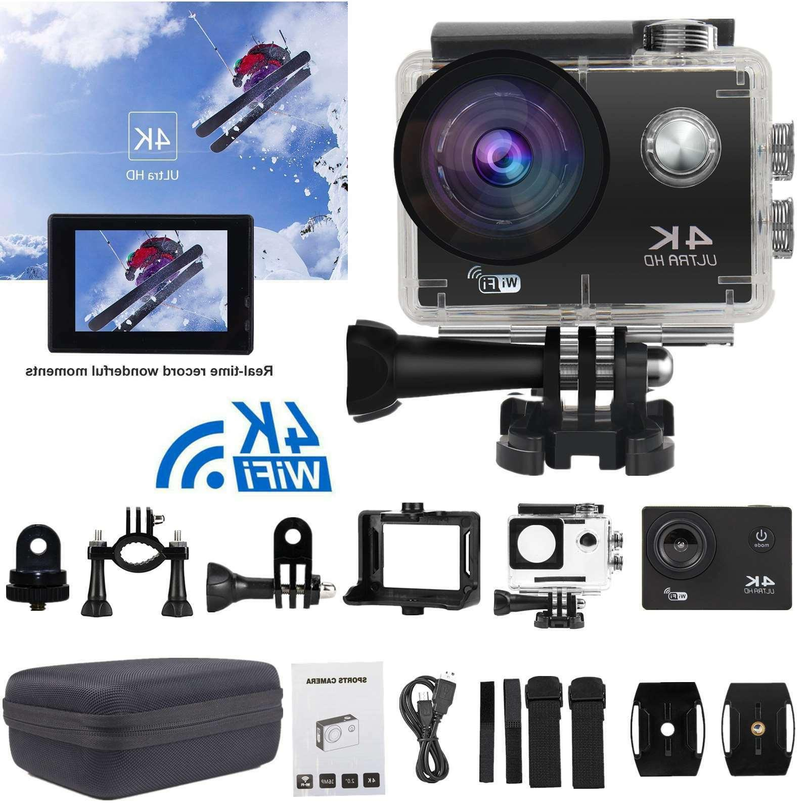 4k action camera wifi camcorder 16mp ultra