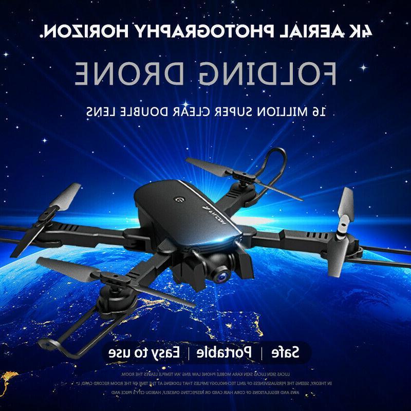 4K Quadcopter w/ HD Camera Gesture Selfie Beauty Filter