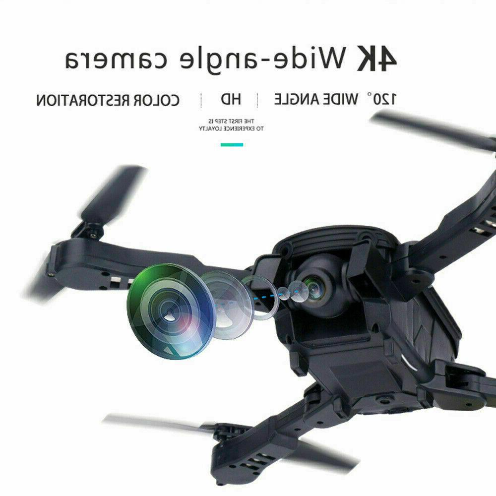 4K Folding Drone Quadcopter Camera Gesture Beauty Filter