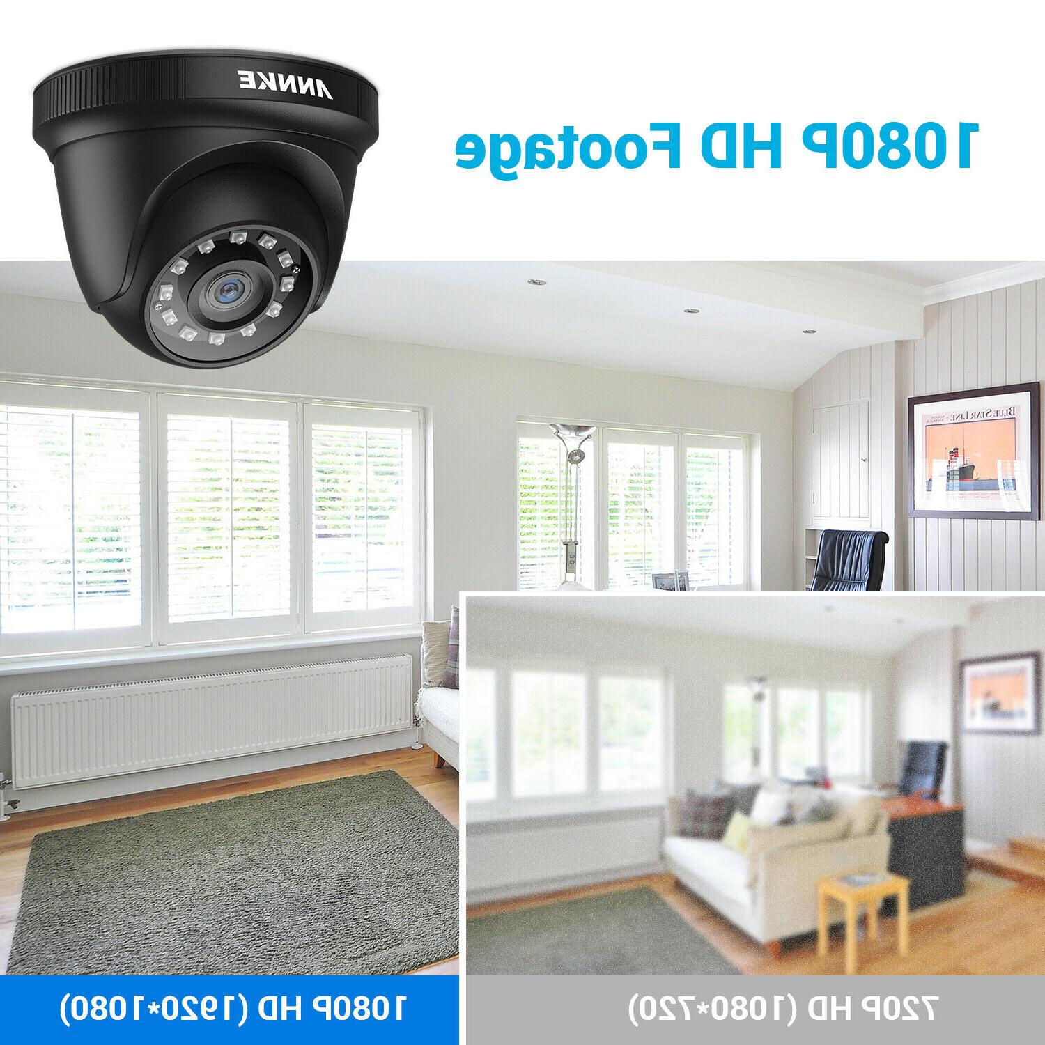 ANNKE HD 1080P Home Security Camera Outdoor IR System