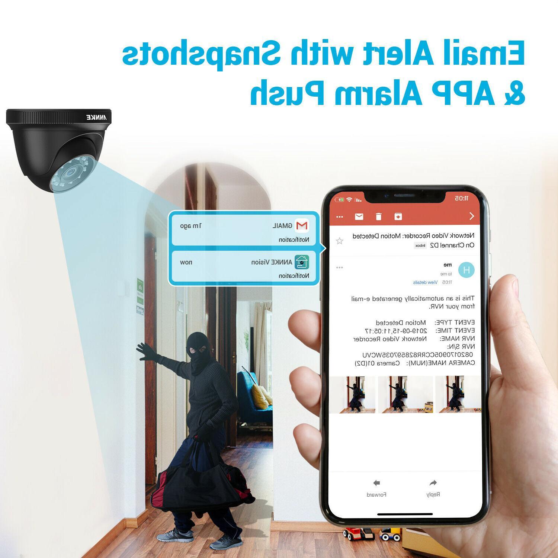 ANNKE HD 1080P Home Camera Kit Outdoor 2MP IR Surveillance System