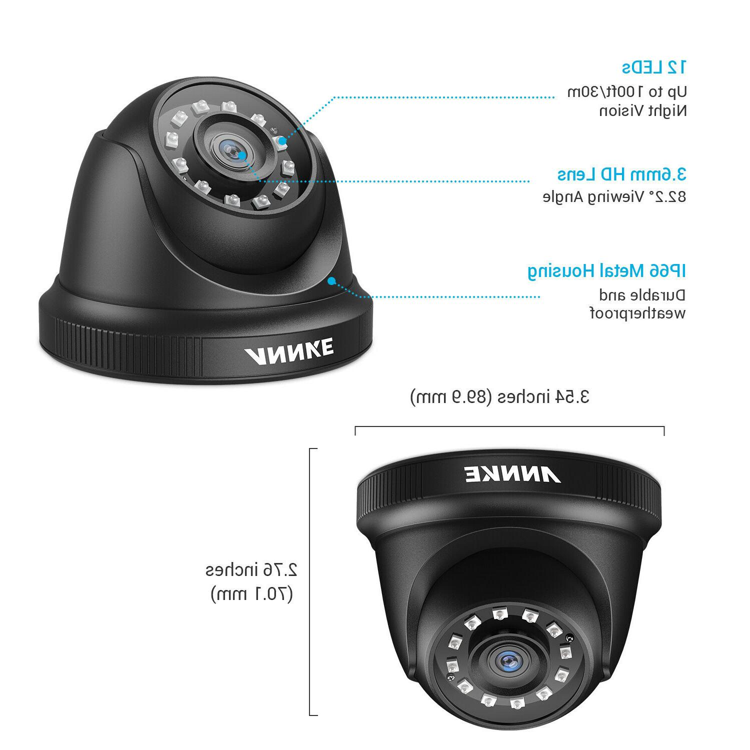 ANNKE HD 1080P Home Outdoor 2MP System