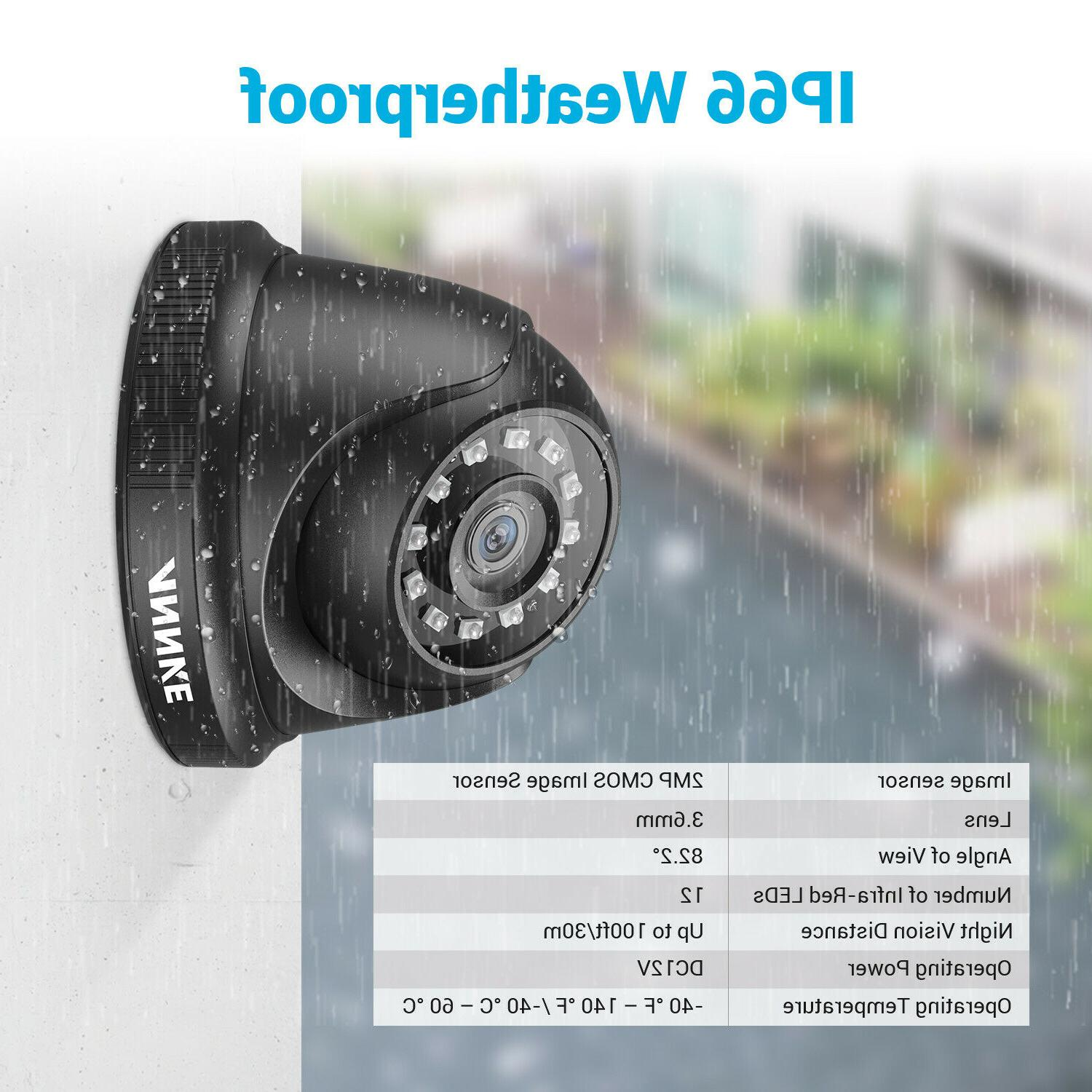 ANNKE 1080P Home Security Kit Outdoor IR