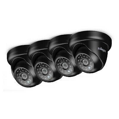 SANNCE HD-TVI Outdoor CCTV Security IR Black