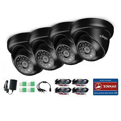 SANNCE HD-TVI Outdoor CCTV Black
