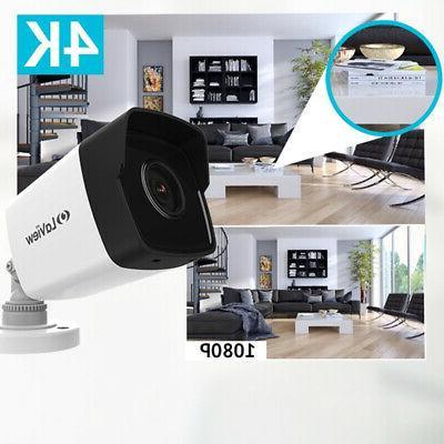 8.3MP H.265 cameras DVR Security