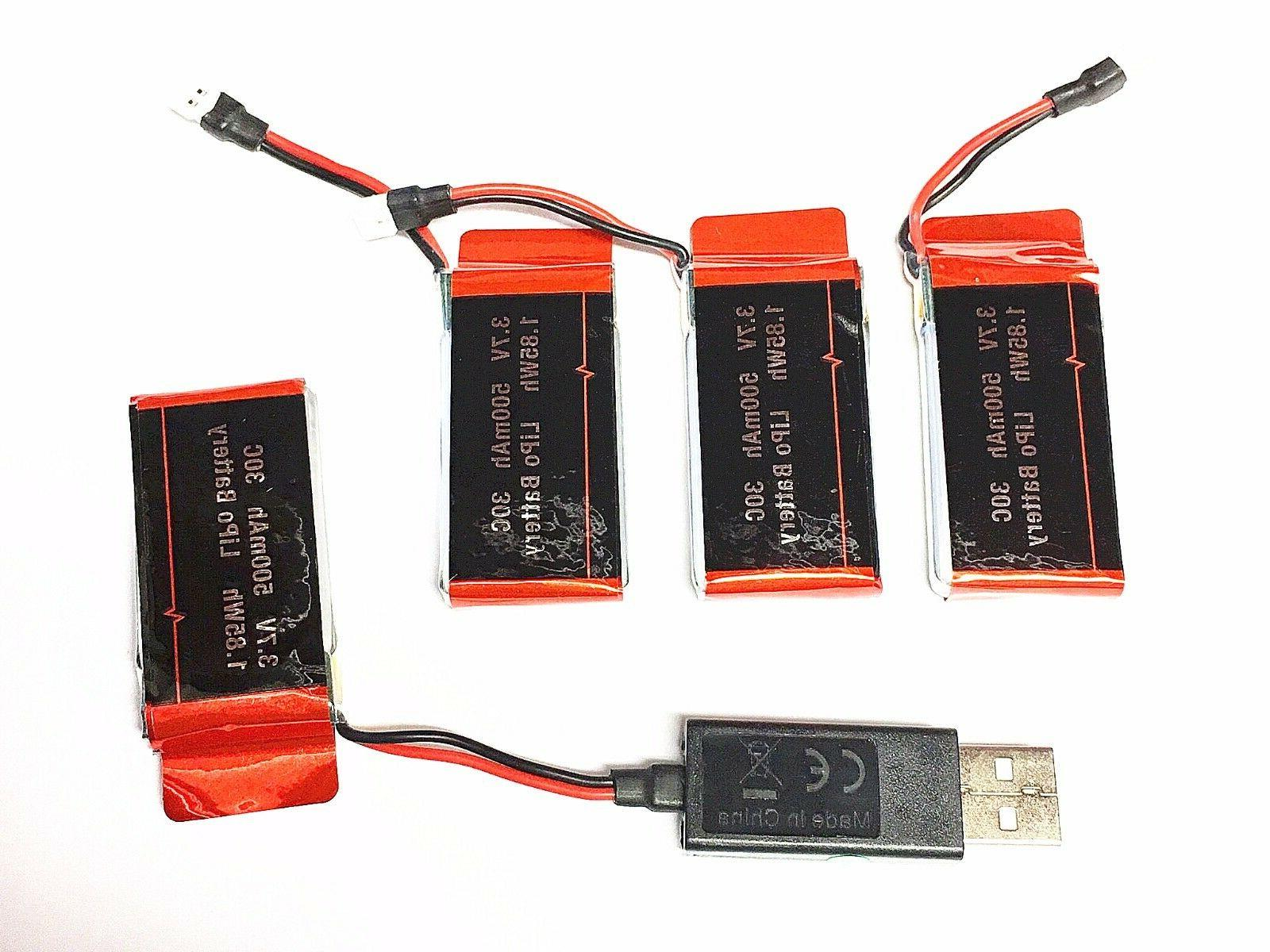 6 Batteries RC Headless 720P Charger