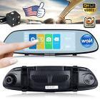 7'' Car DVR Dual Lens HD 1080P Vehicle Dash Cam Rearview Mir