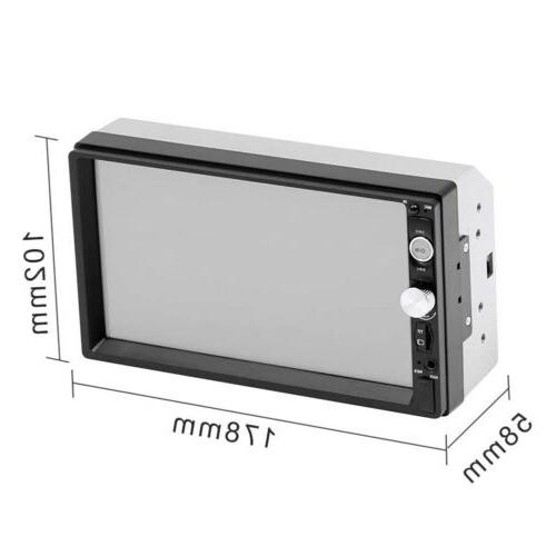 """7"""" With Cameras Bluetooth FM Touch"""
