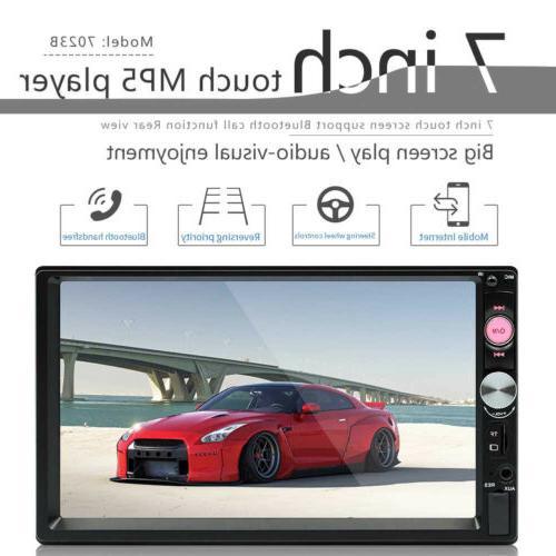"7"" Car MP5 With Cameras Bluetooth FM USB Touch Redio"