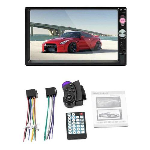 """7"""" Player Bluetooth HD Touch Redio"""