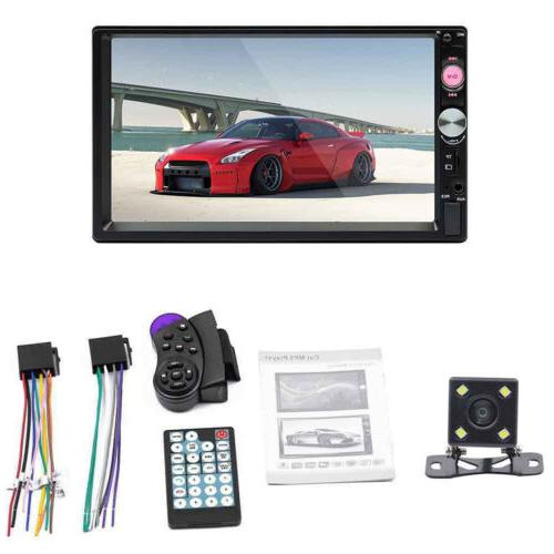 7 car mp5 player with 4led cameras