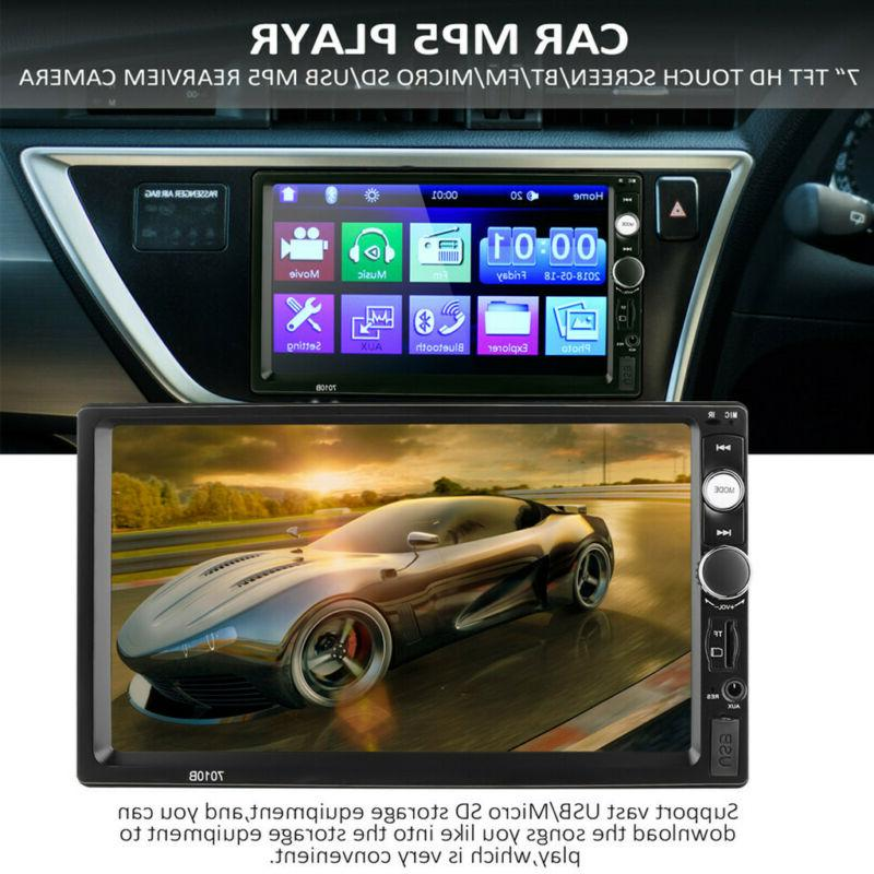 """7""""Double 1080P MP5 Player Screen"""