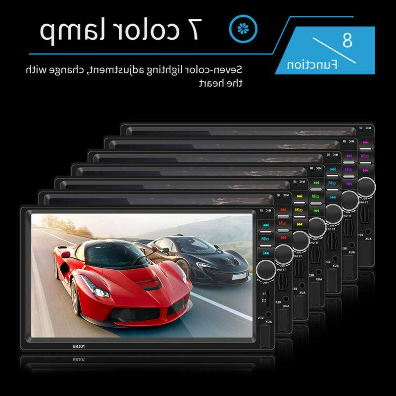 7 Inch DOUBLE Car Player Tou+ch Stereo HD+Camera
