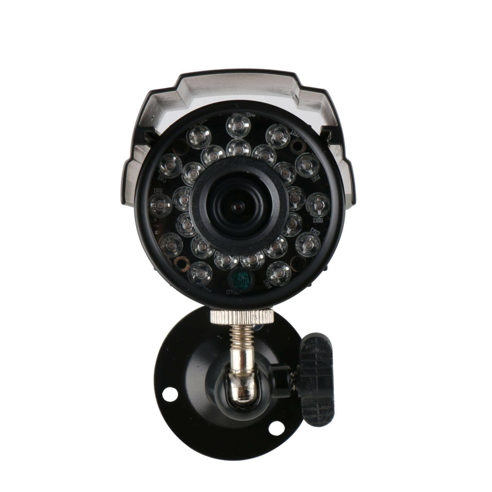 Anspo 4CH IR CUT CCTV Security Camera System US Fast Ship