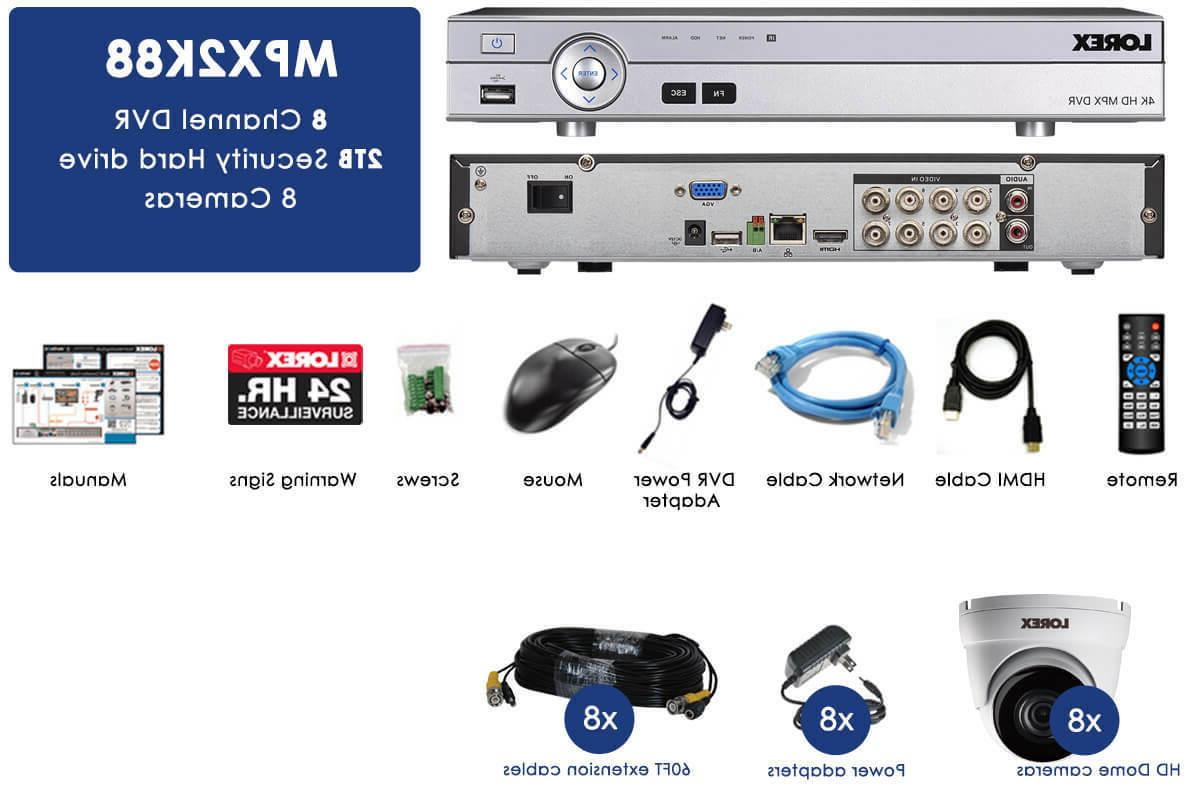 Lorex 8 Channel Dv9082 4k Ultra Hd Dvr Manual Guide