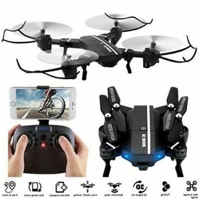 8807W Wifi FPV 2MP Foldable HD Camera Drone UFO Gyro 2.4G 6-