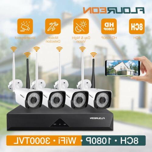 8ch 4ch 1080p hd dvr cctv cameras
