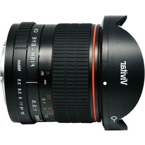 Vivitar Aspherical Fisheye Nikon Cameras D3500