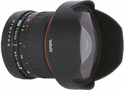Vivitar 8mm Aspherical Nikon D3500