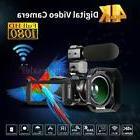 ORDRO WiFi 4K ULTRA HD 24MP 30X ZOOM Digital Video Camera Ca