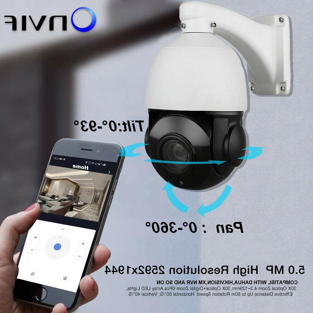 Built-in POE Camera Pan/Tilt Speed Dome
