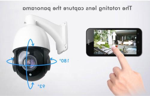 Built-in POE PTZ Camera 5MP HD Pan/Tilt Dome Cameras