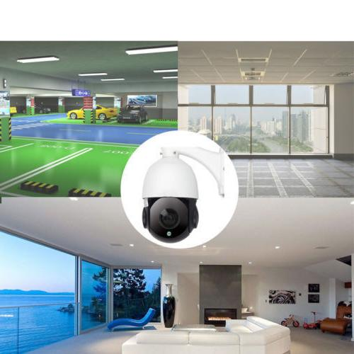 Built-in POE Camera HD 2592x1944 Pan/Tilt 30x Dome