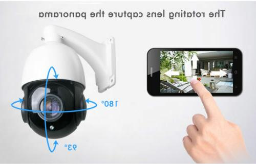 Built-in POE PTZ Camera 5MP HD Pan/Tilt Dome Cameras