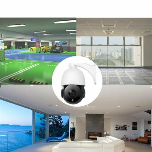Built-in POE Camera HD 2592x1944 Pan/Tilt 30x Dome