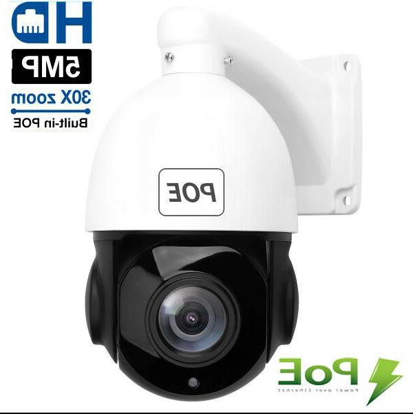 Built-in Camera 5MP 2592x1944 Pan/Tilt 30x Zoom Dome